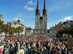 4.500 Aktivisten am 20. September 2019